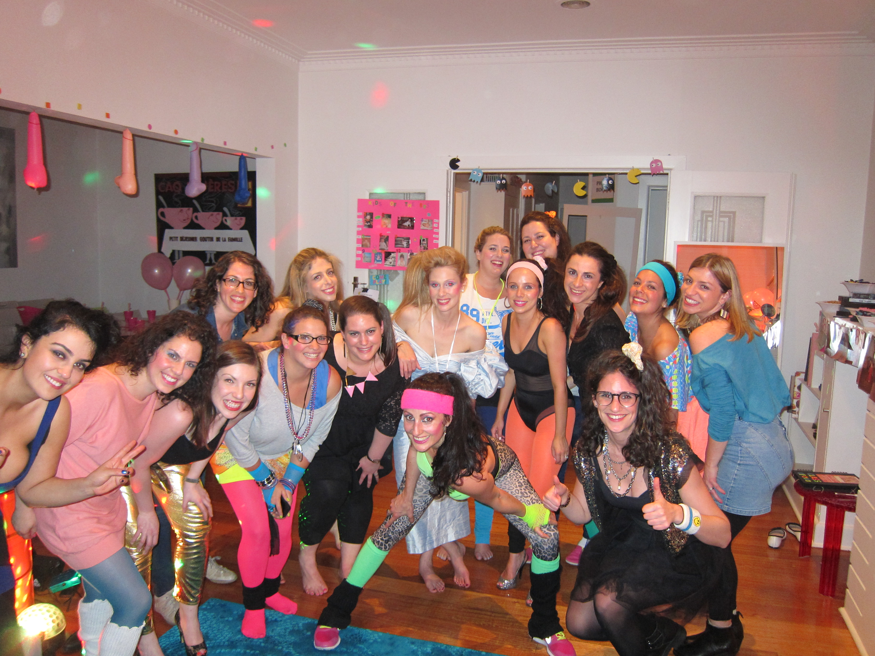 RAD Hens House Party!